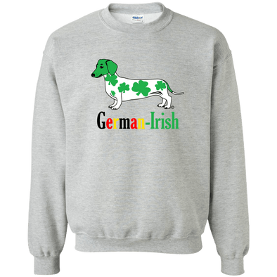 German-Irish Crewneck Pullover Sweatshirt