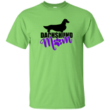 Dachshund Mom Longhair (Purple) Unisex Ultra Cotton T-Shirt