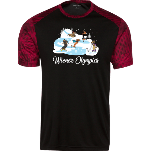 Wiener Olympics CamoHex Colorblock T-Shirt