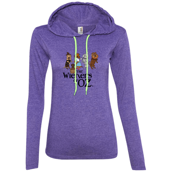 Wieners of Oz Ladies' LS T-Shirt Hoody