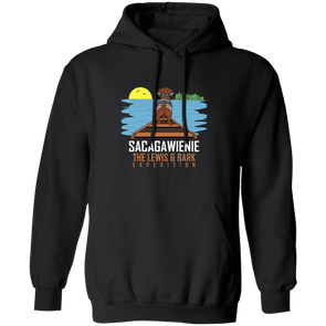 Sacagawienie (dark) 50/50 Cotton/Poly Pullover Hoody