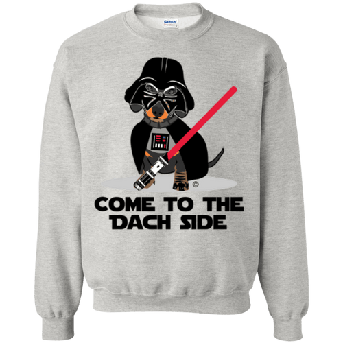 Dach Side 50/50 Crewneck Pullover Sweatshirt  8 oz