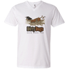 Dirty Dogs (2) Men's V-Neck T-Shirt
