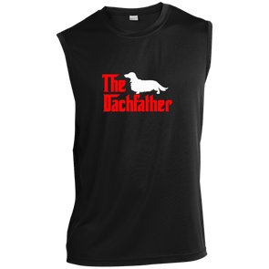 The Dachfather (LH) Sleeveless Moisture-Wicking T-Shirt