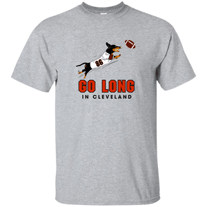 Go Long in Cleveland Unisex Ultra Cotton T-Shirt