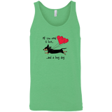 All You Need Is Love SH (B&T) Unisex Tank
