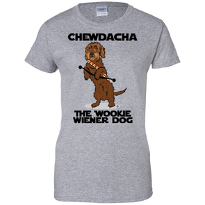 Chewdacha Ladies' 100% Cotton T-Shirt