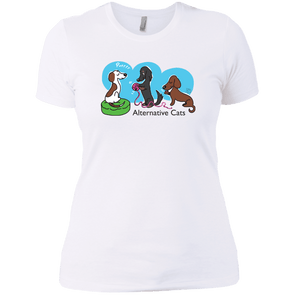 Alternative Cats Next Level Ladies' Boyfriend Tee