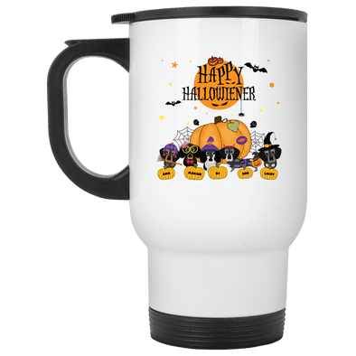 Personalized Hallowieners 14 oz. Stainless Steel Travel Mug