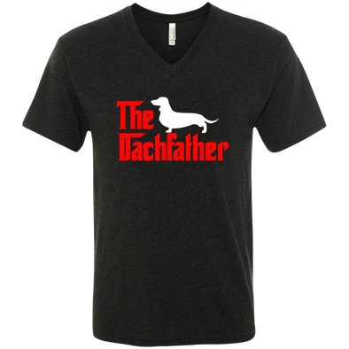 The Dachfather (SH) Men's Next Level Triblend V-Neck T-Shirt