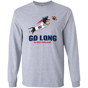 Go Long in New England Unisex LS Ultra Cotton T-Shirt