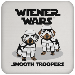 Wiener Wars Smooth Troopers Coaster