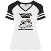 Wiener Wars Smooth Troopers Ladies' Game V-Neck T-Shirt