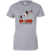 Go Long in Cleveland Ladies' T-Shirt