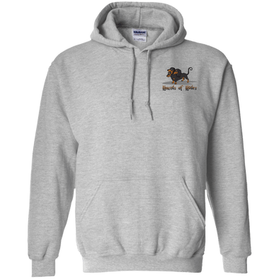 3-Headed Dog (Front/Back) Pullover Hoody