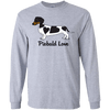 Piebald Love (Black) LS Ultra Cotton T-Shirt