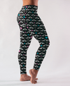 Doxie Puppy Love All-Over-Print Leggings