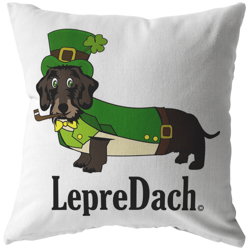 LepreDach Throw Pillow