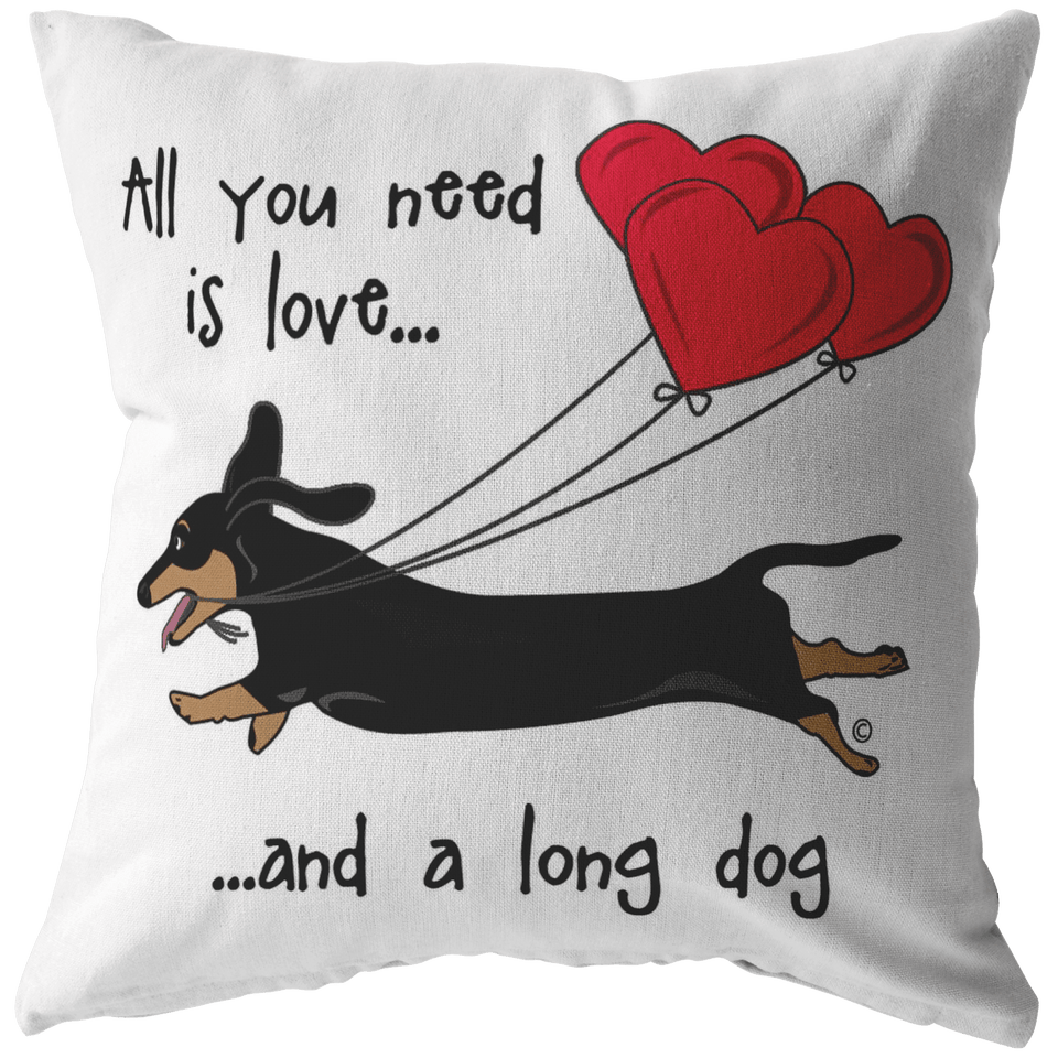 All You Need Is Love SH (B&T) Throw Pillow
