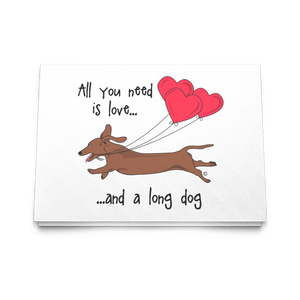 All You Need Is Love SH (Red) Greeting Cards