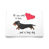 All You Need Is Love WH (B&T) Greeting Cards