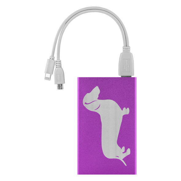 Shorthair Dachshund Power Bank