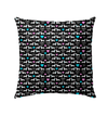 Doxie Love OUTDOOR Microfiber Twill Pillow 18x18