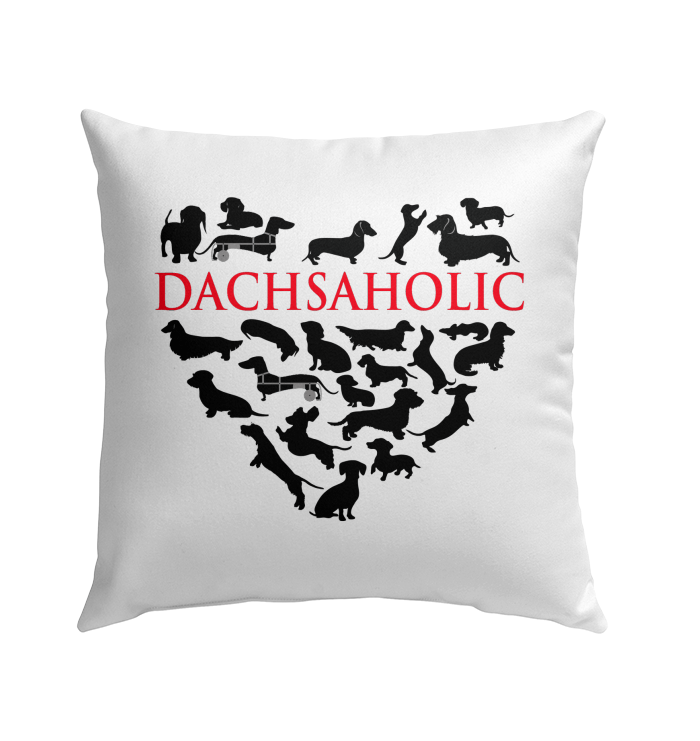 Dachsaholic Outdoor Microfiber Twill Pillow 18x18