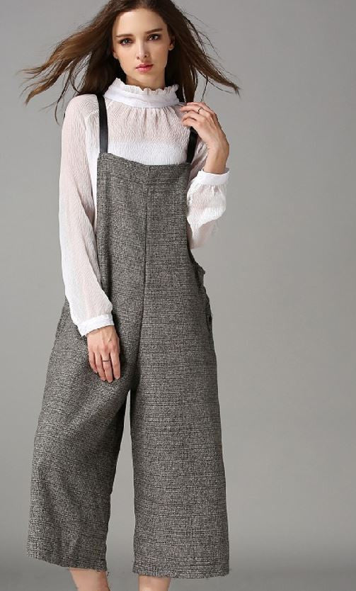 c7bf29130e46 Weekdaygirl Boutique. 0. Women Grey Oversized Jumpsuit ...