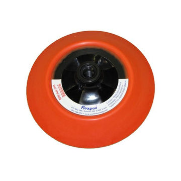 6 Inch Orange Hard Flexpad