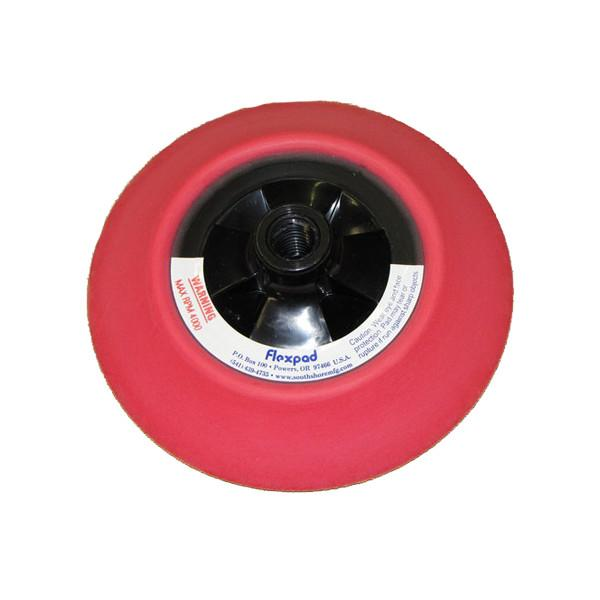 6 Inch Red Medium Flexpad