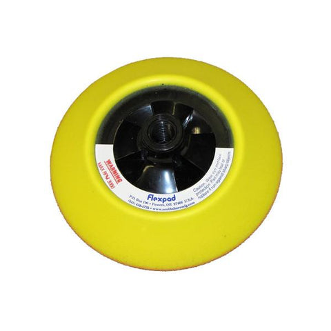Six Inch Yellow Soft Flexpad
