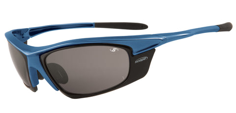 Blue sunglasses - polarized or mirror lenses
