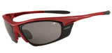 Cycling Glasses -  Red Frame &  Smoke Lenses