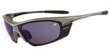 The best sports sunglasses -  Chrome Frame &  Blue Mirror Lenses
