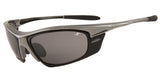 Sports Sunglasses - Chrome frame & Silver Mirror Lens