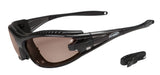 Sports Prescription Sunglasses - Eclipse Lenses with optional Rx Insert