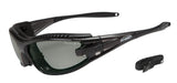 Sports Prescription Sunglasses - Transition Lenses with optional Rx Insert