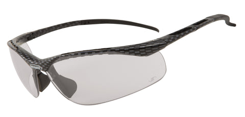 Clear lenses ideal for running, cycling or shooting glasses