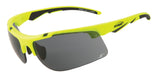 Sunglasses for running - Yellow Frame  with Grey Lenses