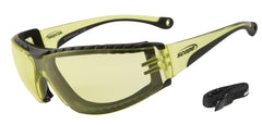 Yellow lens sunglasses for motorcycle glasses