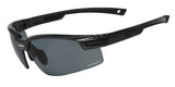 Rx able Prescription Sports Glasses with smoke lens