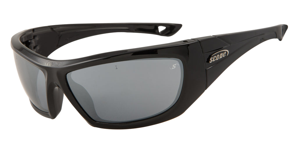 Sports and Golf Glasses with Petrol frames and Smokey Grey Lenses