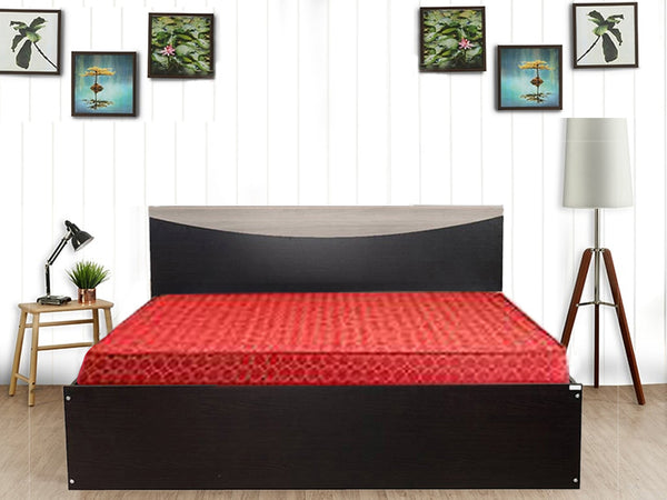 Carol without storage Queen Size Bed + Dunlop Mattress 60x78x4 (Combo Offer