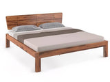 Marieta Queen Size Bed in Teak Finish