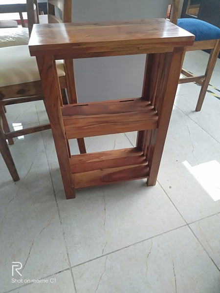 Antilo Small Bookshelves in Teak Finish