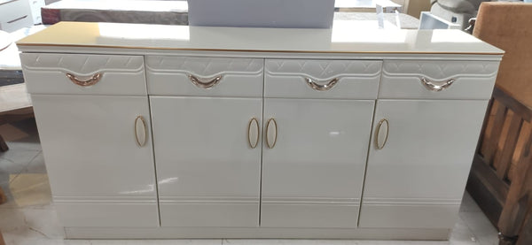 Raymond Wide 6ft Sideboard in White Glossy