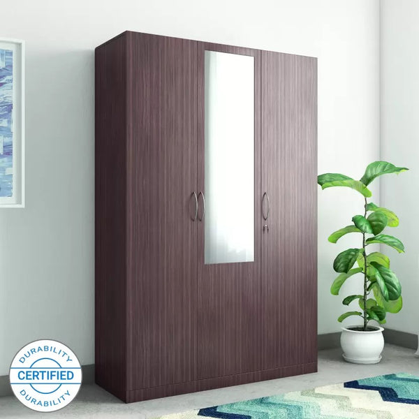 Allen Engineered Wood 3 Door Wardrobe
