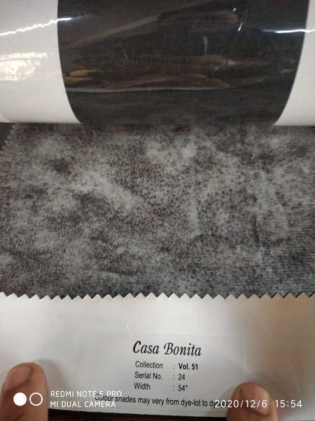 Fabric Customization in Recliner Casa Bonita Vol 51 Sr No. 24