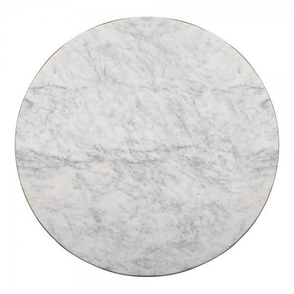 Round Galatea Marble Dining Table 42 Inches